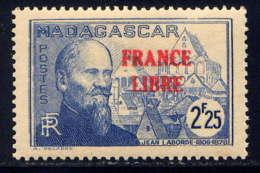 MADAGASCAR - 251** - JEAN LABORDE / FRANCE LIBRE - Madagascar (1889-1960)
