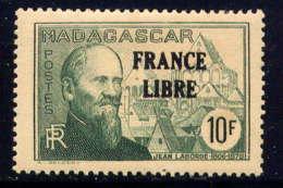 MADAGASCAR - 254* - JEAN LABORDE / FRANCE LIBRE - Madagascar (1889-1960)