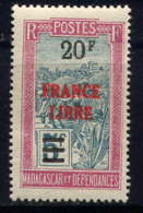 MADAGASCAR - 255* - TRANSPORT EN FILANZANE / FRANCE LIBRE - Madagascar (1889-1960)