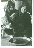 CP Mauritanie Thé De L'accueil Sous La Ente Des Pasteurs Nomades Vers 1980 Photo Vivant Univers PP. Blancs - Mauritanie