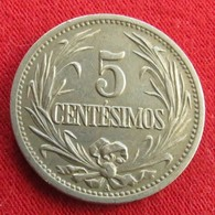 Uruguay 5 Centesimos 1901 KM# 21  Uruguai - Uruguay