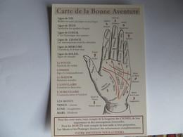 CPM Souvenir Du Musée Des Arts Forains - Les Lignes De La Main Carte De La Bonne Aventure Paris XII Bercy - Musei