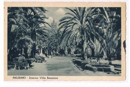 Cartolina - Postcard / Viaggiata - Sent / Palermo - Interno Villa Bonanno - Palermo