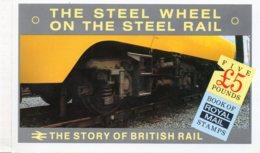 1986 £5 Prestige British Rail Booklet DX7 - Markenheftchen