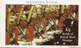 1990 £5 Prestige London Life Booklet DX11 - Booklets