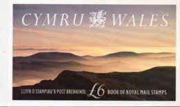 1992 £6 Prestige Wales Booklet DX13 - Booklets