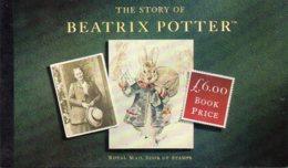 1993 £6 Prestige Beatrix Potter Booklet DX15 - Booklets