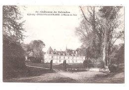 CPA 14 - COLLEVILLE Sur MER - Le Château - L'Entrée Du Parc - Non Circulée Acheter Immédiatement - France