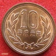 Japan 10 Yen 1989 / 1  Japão - Japon