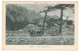 20 - CORSE - COL DE BAVELLA - AGENDA P.L.M. 1926  Teinte Verte - France