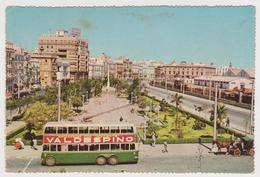 1190/ CÁDIZ, Spain. Av.. R. De Carranza [trolleybus] (1950s).- Bus. Autobus. Non écrite. Unused. Non Scritta. No Escrita - Bus & Autocars