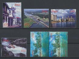 °°° PANAMA - Y&T N°1168/70/71/73/74 - 1998 °°° - Panama