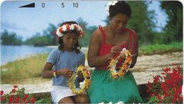 Northen Mariana Isl. - NMI-MT-05, Mother And Daughter, 10 Units , 1991, Mint - Noordelijke Marianen
