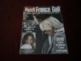 FRANCE GALL  ° PARIS MATCH  JANVIER 1998 - Vieux Papiers