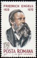 ROMANIA - Scott #2186 Friedrich Engels (*) / Used Stamp - 1948-.... Republics