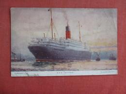 Cunard Line  R.M.S. Scythia  Ref 3123 - Krieg