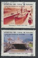 °°° PANAMA - Y&T N°542/43 PA - 1989 °°° - Panama
