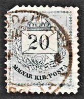 Hungary - Scptt #22 Used - Faulty, Clipped Corner - Hungary