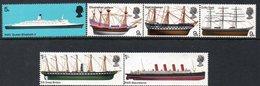 GREAT BRITAIN, 1969 SHIPS 6 MNH - 1952-.... (Elisabetta II)