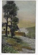 Signé : A. BERTIGLIA - Paysage (O153) - Bertiglia, A.