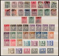GRANDE-BRETAGNE - Timbres De Services Et De Taxes - Période 1882 à 1970 Tout état - Voir Photo - Collections (sans Albums)