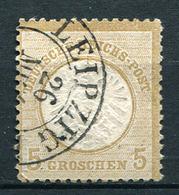 42844) DEUTSCHES REICH # 22 Gestempelt GEPRÜFT Aus 1872, 40.- € - Germany