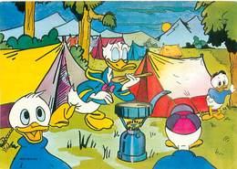 Walt Disney -  Donald Camping Fifi Riri Loulou    B 197 - Disney