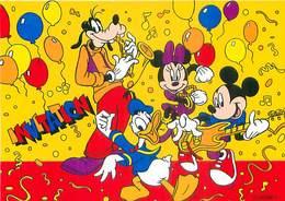 Walt Disney -  Donald Mickey Minnie Dingo  Invitation     B 199 - Disney