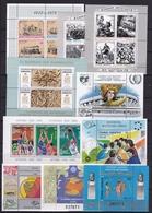 GREECE 1978-1992 10 Miniature Sheets MNH Vl. B 1 / B 10 Complete - Blokken & Velletjes
