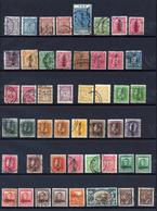 NOUVELLE-ZELANDE Timbres De Services - Période 1891 à 1954  - Tout état - Voir Les 2 Photos - Collections (sans Albums)