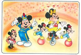 Walt Disney -  Mickey Minnie Cirque Velo Ballon     B 199 - Disney