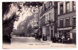 3840 - Paris ( IVe ) - Quai De L'Hotel De Ville - édit. Berdu , Cl. Thabault à Paris - - Arrondissement: 04