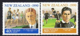 NEW ZEALAND, 1990 HEALTH/SPORTS 2 MNH - Nuova Zelanda