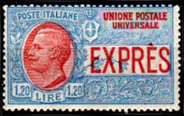 Italia-G-0073 - 1922 - Espresso N. 8 (+) LH (leggera Traccia) - Senza Difetti Occulti. - 1900-44 Vittorio Emanuele III
