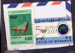 (Free Shipping*) USED STAMP - Myanmar (Birmanie 1948-...)