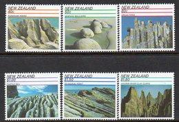 NEW ZEALAND, 1991 SCENIC WONDERS 6 MNH - New Zealand