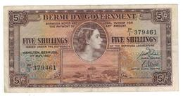 Bermuda, 5 Shill. 1957, Crisp VF+. - Bermudas
