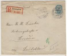 12541 - Entier Recommandé  Pour L'Allemagne - Covers & Documents