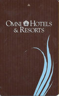 Omni Hotels & Resorts - Hotel Room Key Card - Hotel Keycards