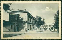 CARTOLINA - MILANO - CV1358 MELZO (Milano MI) Stazione Ferroviaria E S.A. Galbani, FP, Non Viaggiata, Ottime Condizioni - Milano (Milan)