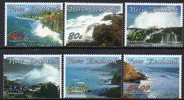NEW ZEALAND, 2002 SCENIC COASTLINES 6 MNH - New Zealand