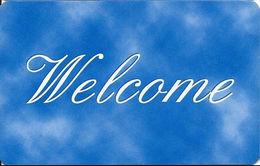 Generic Welcome RFID Room Key Card With Www.plicards.com On Back & No Mag Stripe - Hotel Keycards