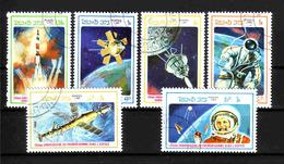71c * LAOS * WELTRAUM * GESTEMPELT ** !! - Space
