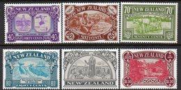 NEW ZEALAND, 1989 HERITAGE PEOPLE 6 MNH - New Zealand