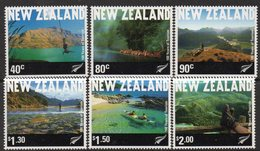 NEW ZEALAND, 2001 TOURISM 6 MNH - New Zealand