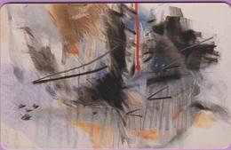 Télécarte Luxembourg °° SC22 - Peintre Isabelle Lutz -Orga1- 120 U - 2000 - RV. - Luxembourg