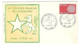 12573 - 63e CONGRES LYON 71 - Esperanto