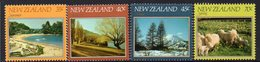 NEW ZEALAND, 1982 FOUR SEASONS 4 MNH - New Zealand
