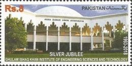 MNH**   Pakistan - The 25th Anniversary Of The Ghulam Ishaq  -2018 - Pakistan