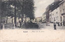 Aubel Place De La Foire Circulée En 1906 - Aubel
